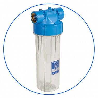 """Корпус фильтра для холодной воды 10"""", резьба 1/2"""", рабочее давление 6 бар Aquafilter FHPR12-B-AQ, фото 2"""