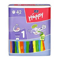 Подгузники Bella Happy Newborn 1, (2-5 кг) 42 шт
