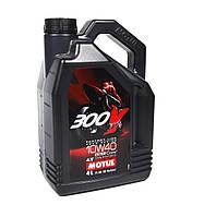 Моторное масло MOTUL 300V FACTORY LINE ROAD RACING 10W40 4T (4л), фото 1