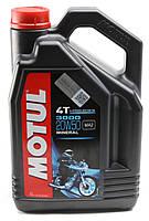 Моторное масло MOTUL 3000 4T 20W50 (4л) для мотоциклов. API SL/SJ/SH/SG, JASO MA2, фото 1