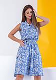 Платья  12081  S голубой, фото 2