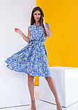 Платья  12081  S голубой, фото 3