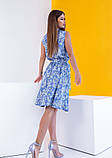 Платья  12081  S голубой, фото 4