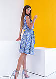Платья  12081  S голубой, фото 5