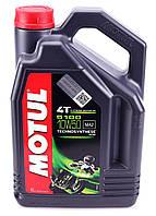 Моторное масло MOTUL 5100 4T 10W50 (4л) для мотоциклов. API SM/SL/SJ/SH/SG; JASO MA2