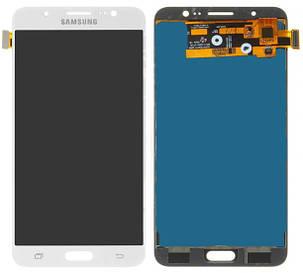 Модуль (сенсор+дисплей) для Samsung J710F, J710FN, J710H, J710M  (2016) TFT З РЕГУЛЮВАННЯМ ЯСКРАВОСТІ білий, фото 2