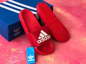 Сланцы/шлепки Adidas (красные)/шлепанцы/Adidas/ адидас/, фото 2