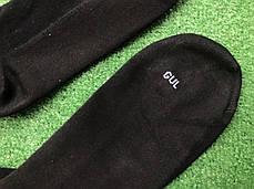 Гетры футбольные без носка + носки GUL(черные)/комплект/обрезки/для футбола, фото 2