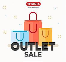 TITANIA OUTLET -40% на ВСЁ!