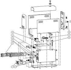 Комплект парогенераторов для хамама HELO HNS 140 T1 56,0 кВт (комплект 4 шт), фото 3