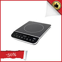 Плита настольная бытовая кухонная индукционная DSP KD 5031, мощная плита одноконфорочная, варочная поверхность