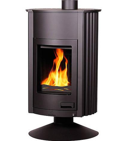 Отопительная печь-камин длительного горения Masterflamme Grande II (черный), фото 2
