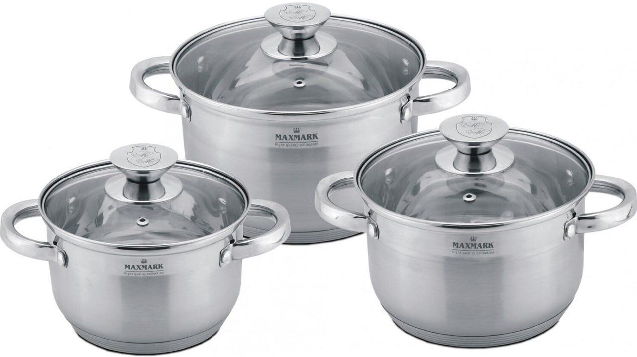 Набір посуду 6 предметів Maxmark MK-3506A