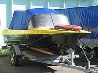 Ходовой тент  для лодки Казанка