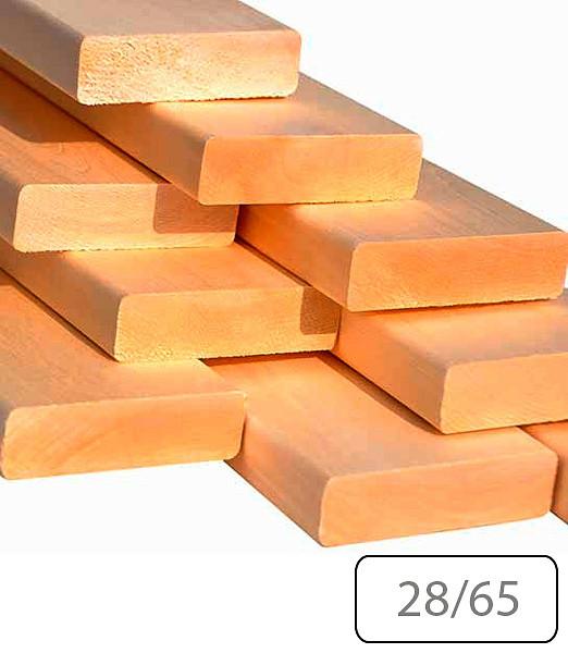 Полок Термоосина 28/65 для бани и сауны