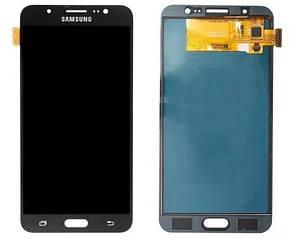 Модуль (сенсор+дисплей) для Samsung J710F, J710FN, J710H, J710M  (2016) TFT З РЕГУЛЮВАННЯМ ЯСКРАВОСТІ чорний, фото 2