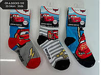 Носочки для мальчиков оптом, DISNEY, 23-34 см,  № CR-A-Socks-100