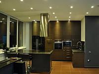Кухня со структурой дерева (шпонированная)