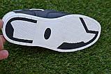 Туфли детские для мальчика кожаные синие р32 - 37, фото 5