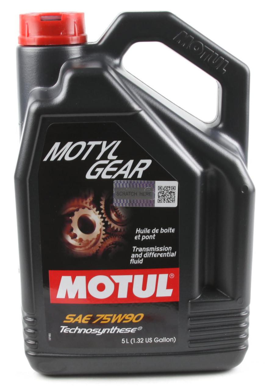 Трансмісійне масло MOTUL MOTYLGEAR 75W-90 (5л)