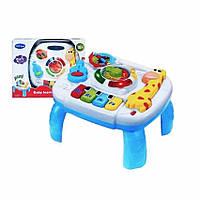 Музыкальный развивающий центр - столик для детей 1089 световые и звуковые эффекты