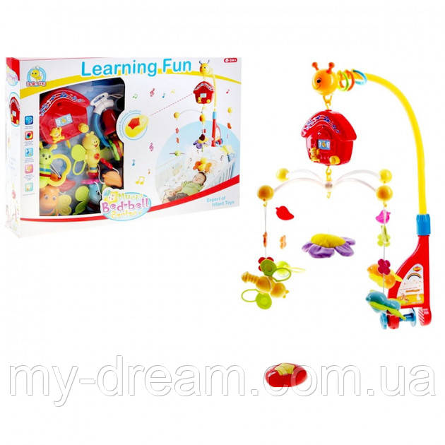 Мобиль-карусель Joy Toy «Активный малыш» 7308 для кроватки на радиоуправлении