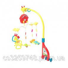Мобиль-карусель Joy Toy «Активный малыш» 7308 для кроватки на радиоуправлении, фото 3