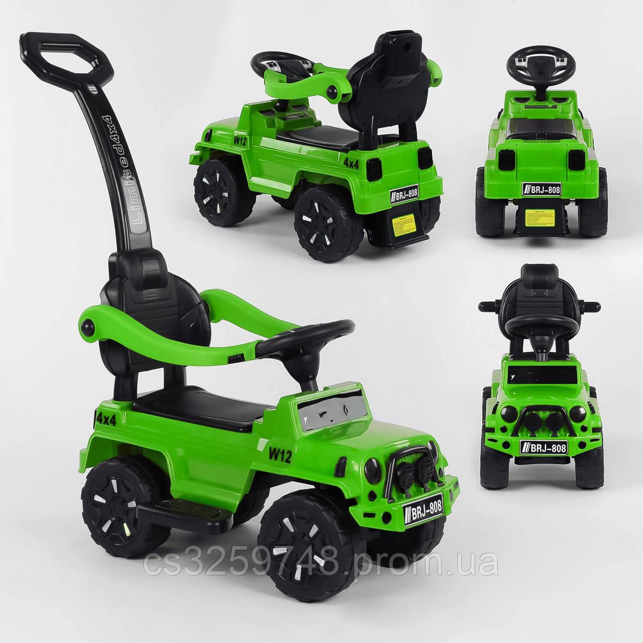 Детская машинка-толокар JOY 808 W-9988 Зеленый
