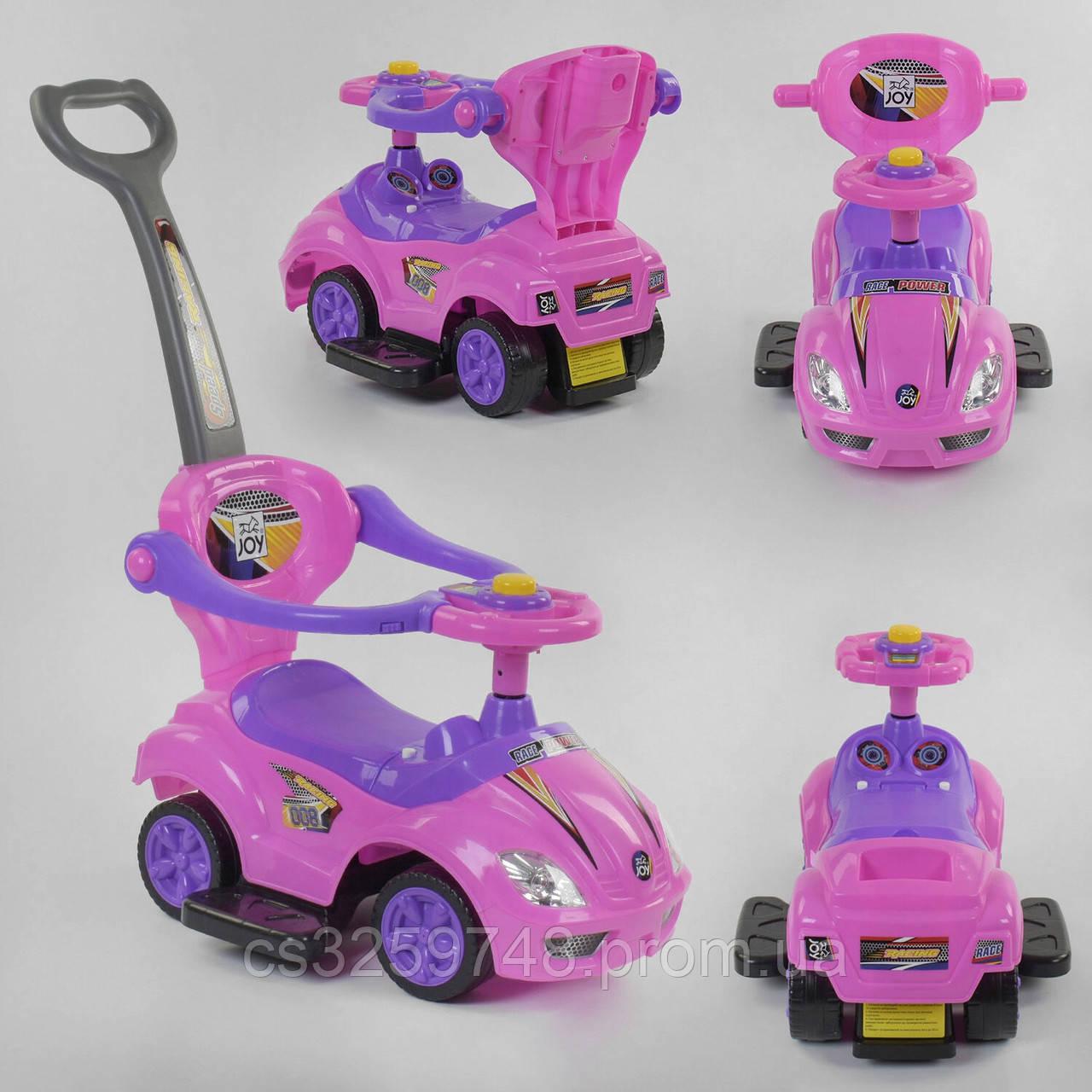 Детская каталка-толокар JOY 3545 -Р Розовый