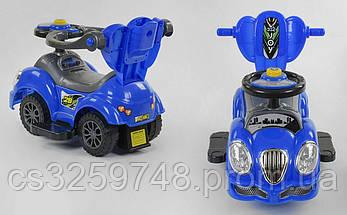 Детская машина-толокар JOY 09-203 В Синий, фото 2