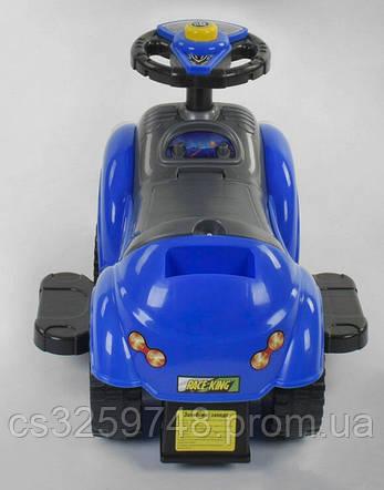 Дитяча машина-толокар JOY 09-203 В Синій, фото 2