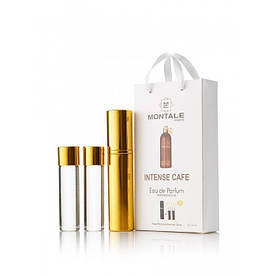 Жіночий міні парфум Montale Intense Cafe, 3*15 мл