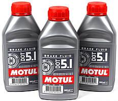 Тормозная жидкость MOTUL DOT 5.1 BRAKE FLUID (0,5л) SAE J 1703; ISO 4925