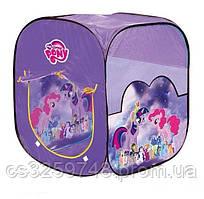 Детская палатка-домик в форме куба My little pony M 5774 LP