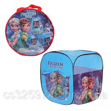 Дитячий ігровий намет Frozen 8008 FZ-B, 72х72х92 см, фото 2