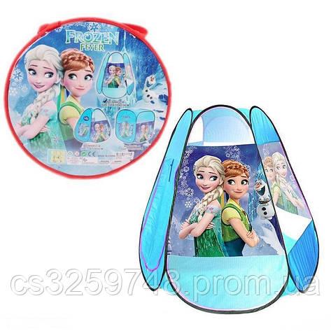 Детская игровая палатка Frozen 8006 FZ-B 120х110х110 см, фото 2