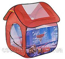 """Детская игровая палатка 8009C """"Тачки"""", размер 114*102*112 см"""