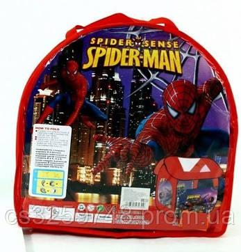 """Палатка-домик детская для квартиры 8009SP """"Человек паук"""", размер 114*102*112 см, фото 2"""