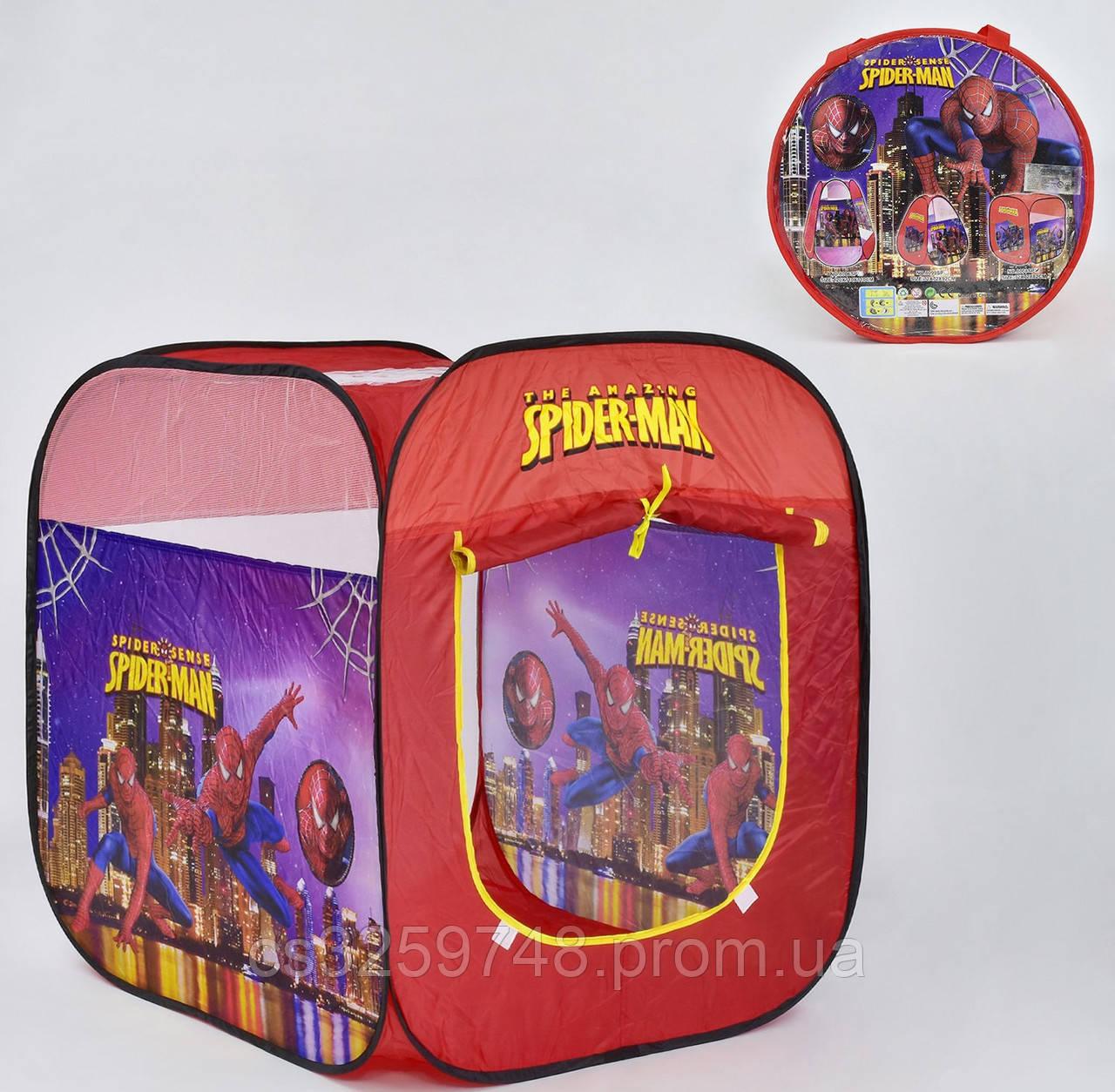 Палатка детская Человек-Паук 8008 SP, в сумке