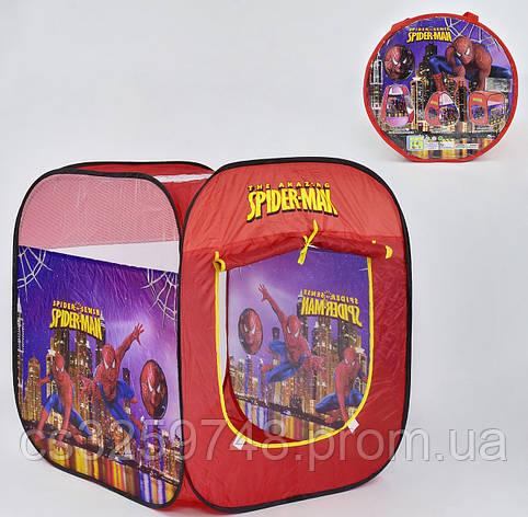 Намет дитячий Людина-Павук 8008 SP, в сумці, фото 2