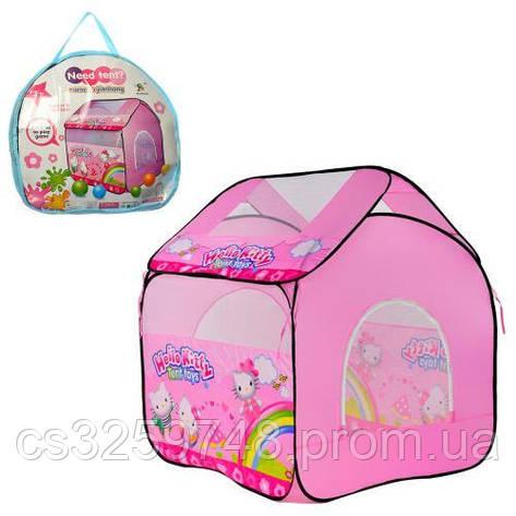 Палатка Hello Kitty M 3782 (98*98*10 см), фото 2