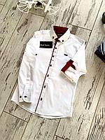 Рубашка для хлопчиків, розмір 7-15 років 164-170