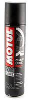 Cмазка для цепей дорожных мотоциклов Motul С2+ CHAIN LUBE ROAD+ (400 мл)