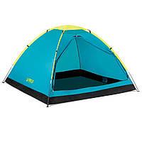 Палатка туристическая трехместная Pavillo Bestway 68085 «Cool Dome 3», 210х210х130 см