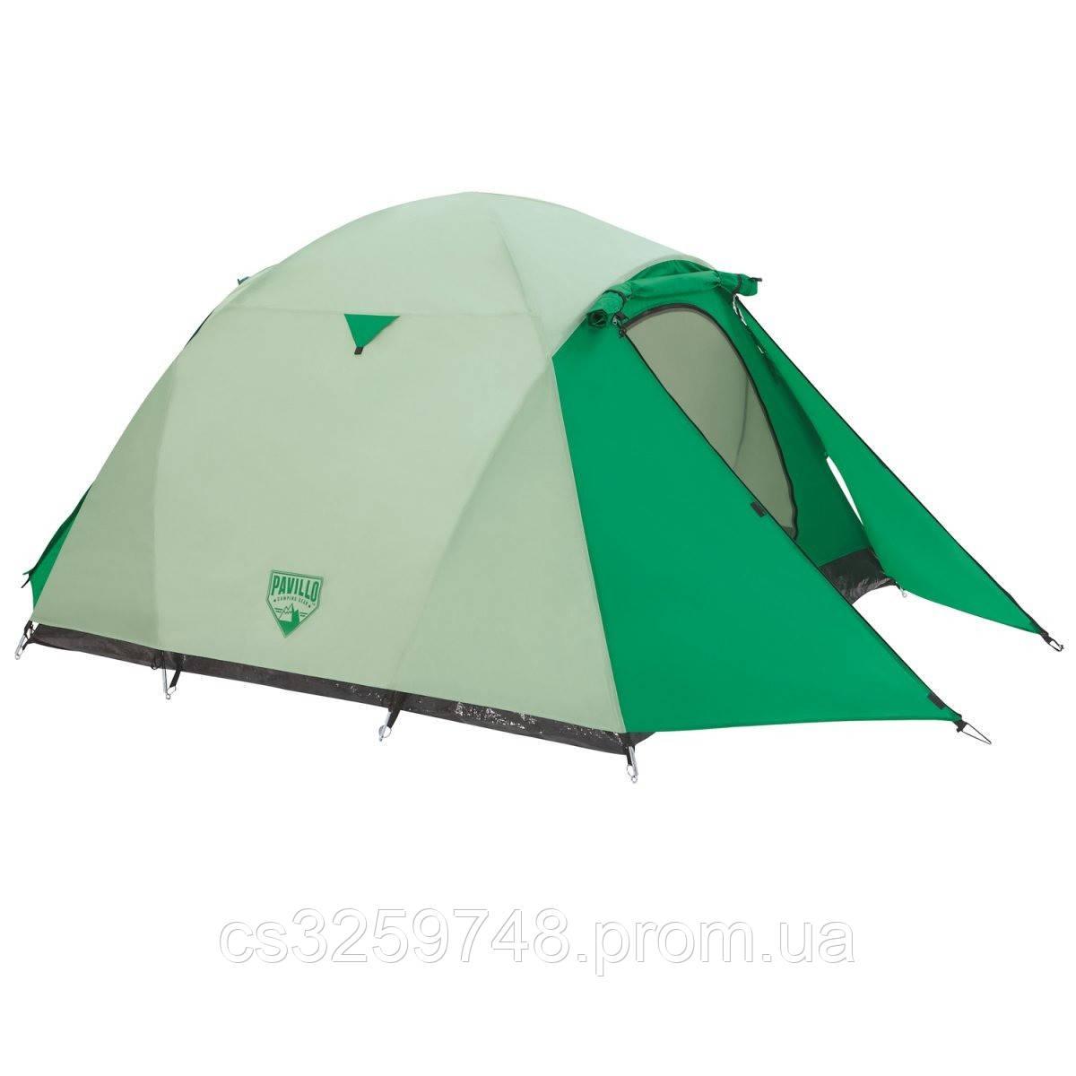 Палатка туристична 68046 (70+200+70)*180*125 см), 3-місна, антимоскітна сітка, сумка