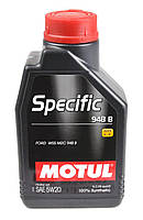 Моторное масло MOTUL SPECIFIC 948 B 5W20 (1л) для двигателей FORD. ACEA A1/B1, С5; API SN, фото 1