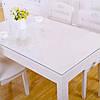 Мягкое стекло Прозрачная силиконовая скатерть на стол Soft Glass Защита для мебели 1.8х1.0м (толщина 1.5мм), фото 10