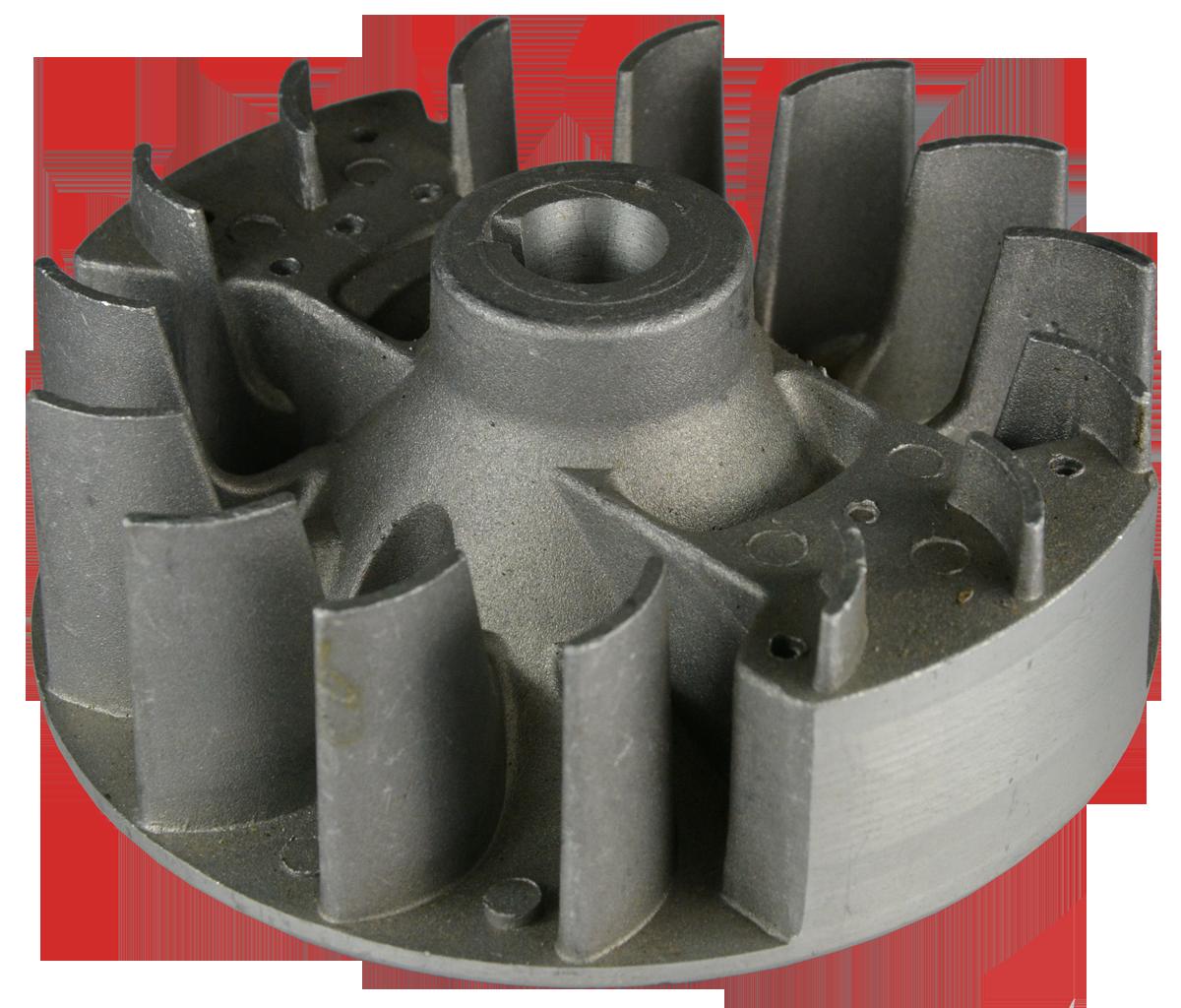 Магнето (маховик), внешний Ø 110 мм Iron