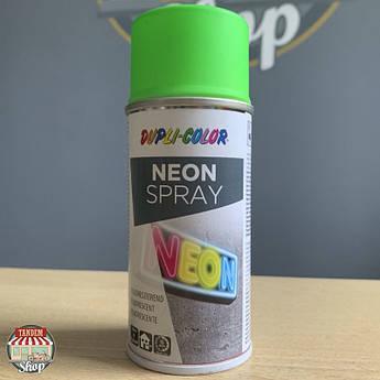Краска флуоресцентная Dupli Color Neon, 150 мл Аэрозоль Зеленый