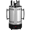 Электрошашлычница  на 6 шампуров шашлычница 1000W, электромангал, мангал, шашлык дома, фото 5